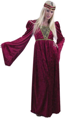 Adult Wine Renaissance Queen Costume Size: Women's Small 5- 7