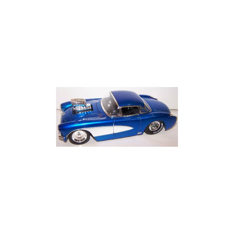 Jada Toys 1/24 Scale Diecast Big Time Muscle with Blown Engine 1957