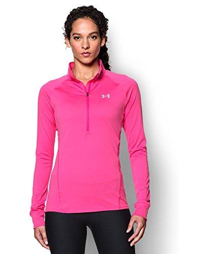 Under Armour Women 39 S Tech 1 2 Zip Shirt Rebel Pink