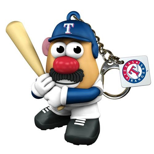 Mlb Texas Rangers Mr. Potato Head Keyring front-1035790