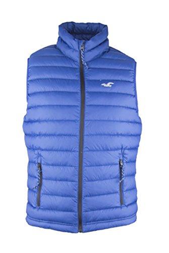 Hollister Body Warmer Puffer Vest Blue XL