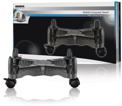 konig-cmp-casestand2-supporto-per-computer-con-rotelle-bianco