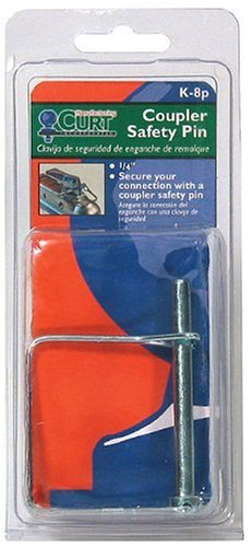 Coupler Safety Pin 1 4 : Curt coupler safety pin in dia packaged