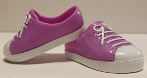 18-inch Doll Purple Sneakers - 1