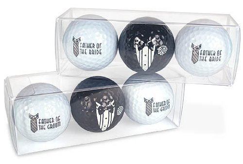 Father of the Bride Golf Ball Set