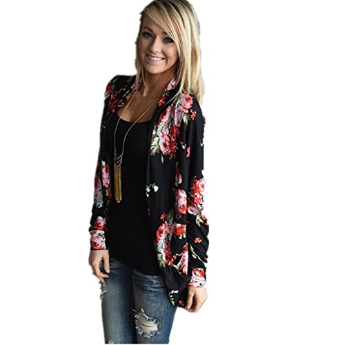 Blouse Shirt, BeautyVan Women Irregular Long Sleeve Cardigans