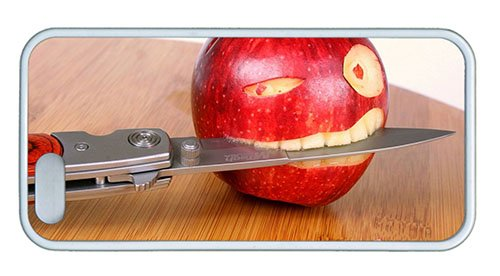 Hipster Iphone 5S Covers Buy Funny Apple Knife Tpu White For Apple Iphone 5/5S