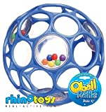 Rhino Toys Oball Rattle (Colors May Vary)