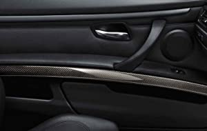 Bmw Carbon Fiber Interior Trim Decorative Panel For Doors Left 3 Series