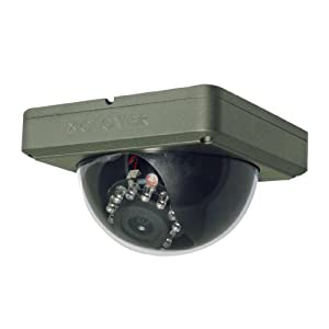 Clover Electronics DC534 Weather-Resistant Night Vision Dome Camera - Small (Grey)