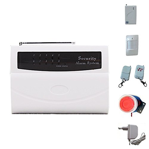 Kit antifurto allarme 2800 casa wireless senza fili sirena - Allarme casa wireless ...