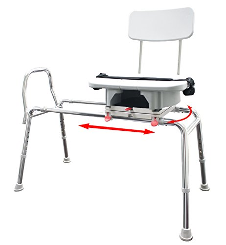 Transfer Bench with Cut-Out Molded Swivel Seat / Back Size: Regular (60 Inch Bath Tub compare prices)