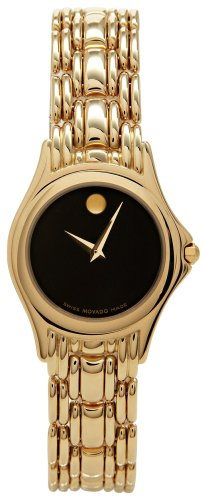 Movado Women's 605331 Aprezi 14K Solid Gold Watch