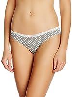 COTONELLA Look&Trend Pack x 6 Braguitas (Gris / Blanco)