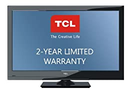 TCL L40FHDF11TA 40-Inch 1080p 60 Hz LCD HDTV with 2-Year Warranty Black