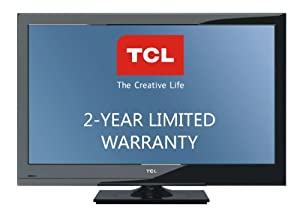 TCL L32HDF11TA 32-Inch 720p 60 Hz LCD HDTV with 2-Year Warranty, Black (2010 Model)