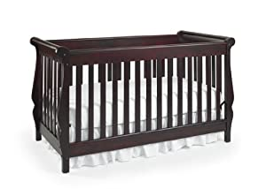 Graco Shelby Classic 4 in 1 Convertible Crib, Cherry