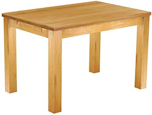 massivholztisch 120 x 80 cm massivholz in honig hell esszimmerm bel esszimmertisch. Black Bedroom Furniture Sets. Home Design Ideas