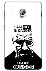 iessential breaking bad Printed Case for Lenovo Vibe P1