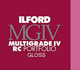 Ilford Multigrade IV RC Portfolio Printed Postcard Size Black/White Paper, 255gsm, 4x6\