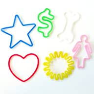 Silly Bandz Fun Shapes – 24 Pack