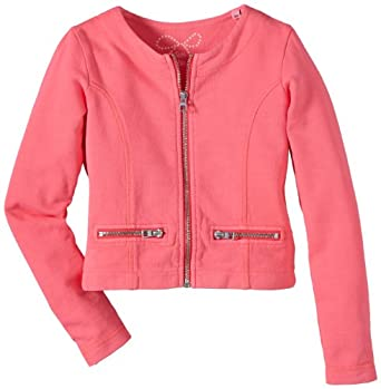 Tom Tailor Kids - Sweat-Shirt Fille - Rose - Rosa (Dilly Pink) - FR : 16 Ans (Taille Fabricant : 176) (Brand size : 176)
