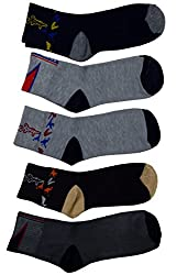 Mulitcolor Ankle Socks Pack of Five