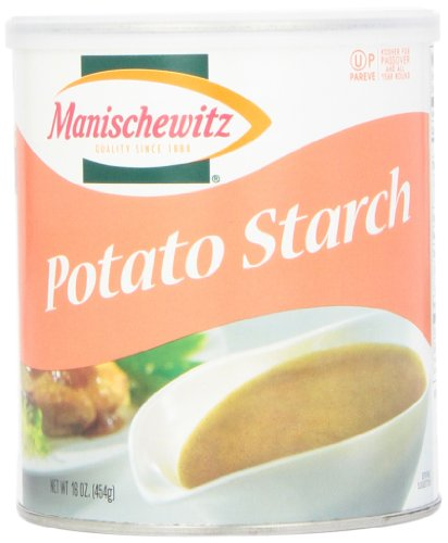 Manischewitz Potato Starch Canister, 16 oz (Potato Corn Starch compare prices)