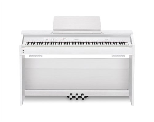 Big Save! Casio PX850 Privia 88-Key Digital Piano, White