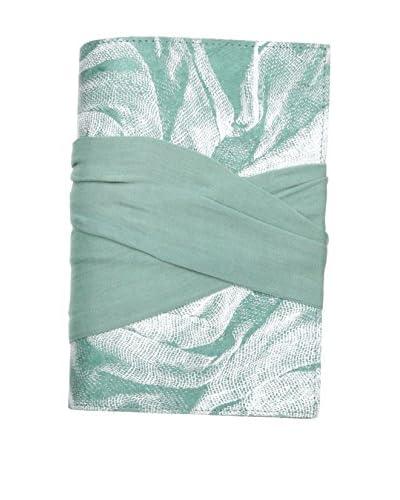 Marina Vaptzarov Malmal Closure Journal, Pale Blue/Green