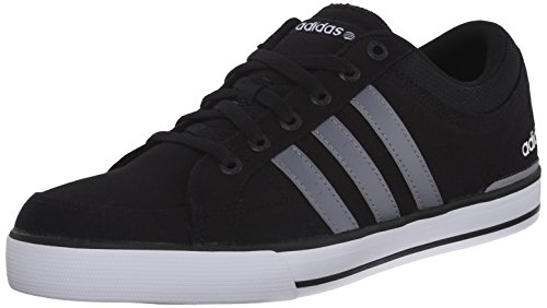 Adidas NEO Men's Bbadidas NEO Skool Low-Top Sneaker,Black/Grey/White,8.5 M US