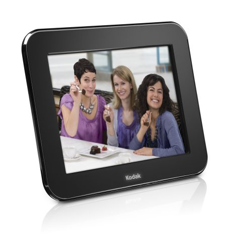 Kodak Pulse 10 inch Digital Wi-Fi Frame with Facebook and Email - Black