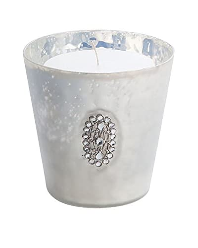 Napa Home and Garden Hayworth Votive with Medallion, Silver