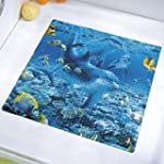 Safety Shower Mat Dolphins inside 52x...