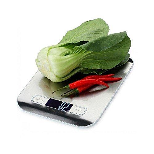 Ohuhu® Balance de Cuisine/Echelle de Cuisine Numérique- Gris