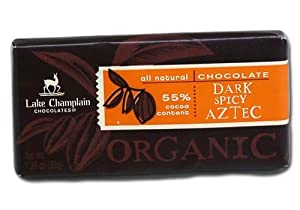 Lake Champlain Chocolates Organic Aztec Spicy 125-ounce Bars Pack Of 10 from Champlain