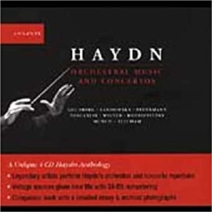 Haydn Orchestral Music And Concertos from Naive Sa