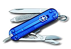Victorinox Blister Range 7 Function Blue Swiss Army Knife (0.6223.TB)