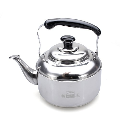 3L Stainless Steel Tea Kettle With Sound Silver Home Kitchen House Pot