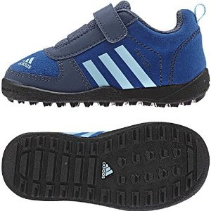 Adidas M18520 Infant Med Blue Daroga Cf Leather I Shoes, 5.5K back-1045866