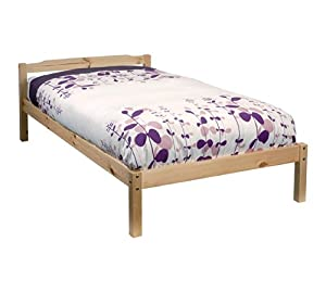 Single Bed Pine 3ft Single Bed Sussex Wooden Frame Sussex from Noa and Nani