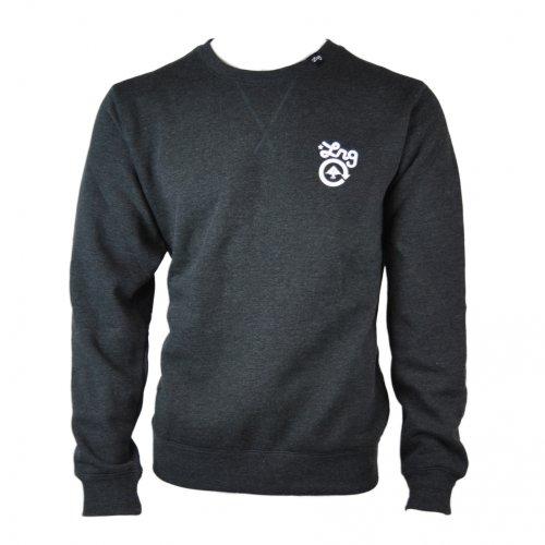 LRG Mens Core Collection Crew Neck Sweater Jumper Sweatshirt - black - xlarge