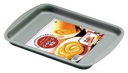 パール金属  ハイクリーンコート ロールケーキ 焼型 27×20cm D-1569