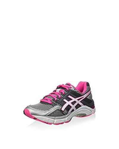 Asics Zapatillas de Running Gel-Foundation 11 Gris / Marfil / Rosa