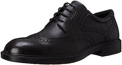 ECCO Men's Atlanta Wing-Tip Oxford Dress Shoe