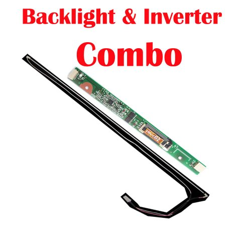 New 15.4 WXGA/WXGA+/WUXGA LCD CCFL Backlight with Wire Harness and Inverter Board Combo for Compaq Laptop/Notebook Presario C300 CTO C300EA C300EU C301NR C301TU C302NR C302TU C303NR C303TU C304NR C304TU C305LA C305TU C306TU C306US C307NR C307TU C308LA C