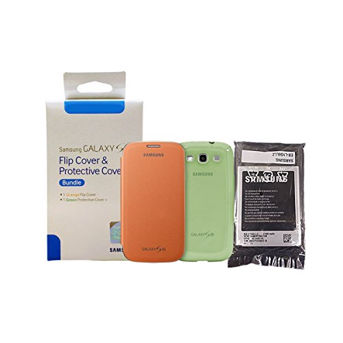 New OEM Samsung Galaxy S3 Battery NFC W/ Flip Cover & Protective Cover + Stylus - (Made in Korea) EB-L1G6LLZ 2100mAh (Samsung S3 Mini Batery Original compare prices)