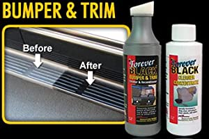 Forever Black Bumper & Trim Dye Kit by MBrown Signature Series