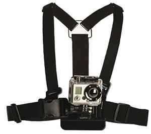 Isaw ISAW-ACC-01 Harnais fixation poitrine pour caméscopes Noir