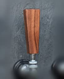Handcrafted Distinctive Dark Walnut Beer Short Tap Handle 2\